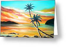 Another Sunset In Paradise Greeting Card