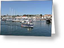Anstruther Away Fishing Greeting Card