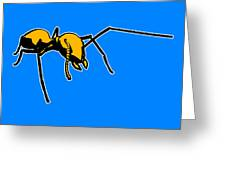 Ant Graphic  Greeting Card