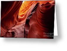 Antalope Canyon #2 Greeting Card