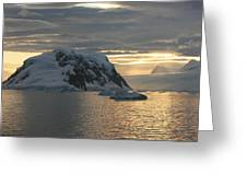 Antarctic Coast Greeting Card