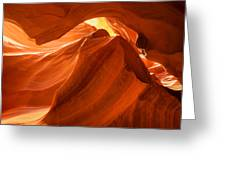 Antelope Canyon - The Wave Greeting Card