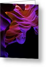 Antelope Canyon Eleven Greeting Card