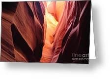 Antelope Canyon II Greeting Card