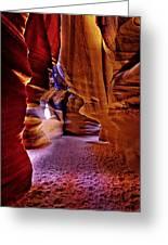 Antelope Canyon Thirteen Greeting Card