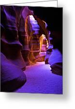 Antelope Canyon Three Greeting Card
