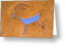 Antelope Petroglyph Greeting Card