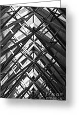 Anthony Skylights Grayscale Greeting Card