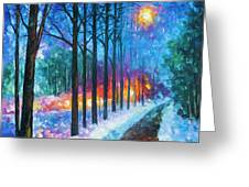 Anticipation Of Spring  Greeting Card