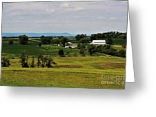 Antietam Battlefield And Mumma Farm Greeting Card