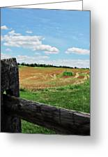 Antietam Farm Fence 2 Greeting Card