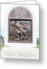 Antietam Irish Brigade Greeting Card