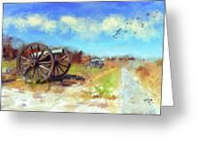 Antietam Under Blue Skies  Greeting Card