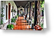 Antigua Hall Greeting Card