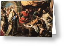 Antiochus And Stratonike Greeting Card