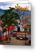 Antioquia Greeting Card