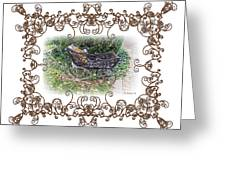 Antique Baby Carriage Greeting Card