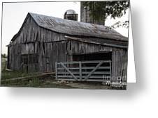 Antique Barn Greeting Card