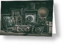 Antique Camera Greeting Card