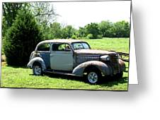 Antique Car 1 Greeting Card