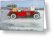 Antique Car Greeting Card
