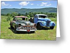 Antique Cars  Greeting Card
