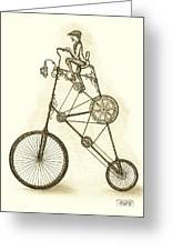 Antique Contraption Greeting Card
