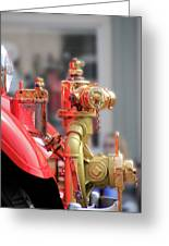 Antique Fire Truck Greeting Card