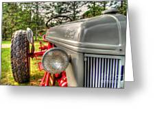 Antique Ford Tractor Greeting Card
