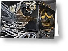 Antique Hearse Greeting Card