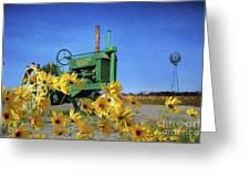 Antique John Deere Greeting Card