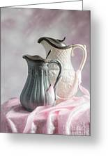 Antique Jugs Greeting Card
