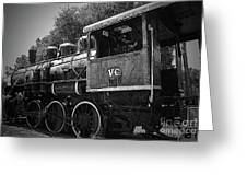 Antique Loco Greeting Card