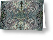 Antique Pastels Greeting Card