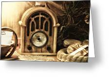 Antique Radio Greeting Card