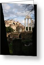 Antique Rome Greeting Card