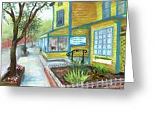Antique Row In Kensington Md Greeting Card