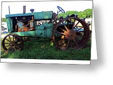 Antique Tractor 1 Greeting Card