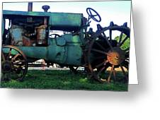 Antique Tractor 7 Greeting Card