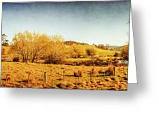 Antique Weathered Countryside Greeting Card