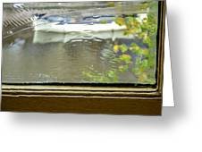 Antique Window - Amsterdam Greeting Card