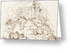 Antiquities Of Dacca Greeting Card
