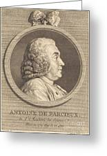 Antoine De Parcieux Greeting Card