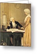 Antoine-laurent Lavoisier Greeting Card