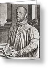 Antoine Perrenot De Granvelle, 1517 To Greeting Card