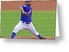 Antonio Bastardo New York Mets Greeting Card