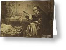 Antonio Stradivari Greeting Card