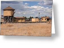 Antonito Colorado Tank And Station Greeting Card