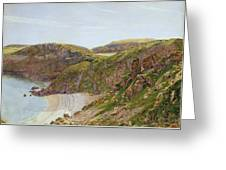 Antsey's Cove South Devon Greeting Card