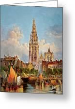 Antwerp Greeting Card